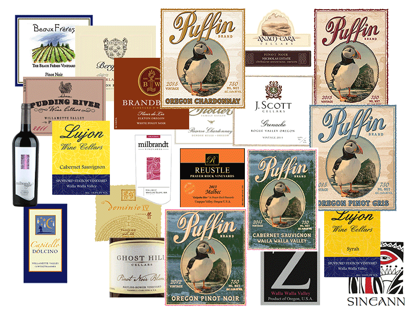 Oregon and Washington wines